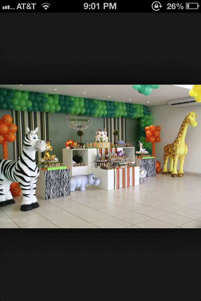 animal theme kitty party games