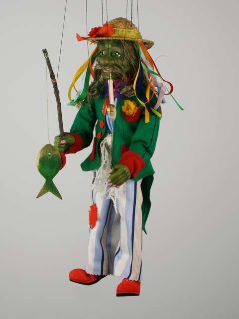 Vodnik Creature | Water man , puppet marionette