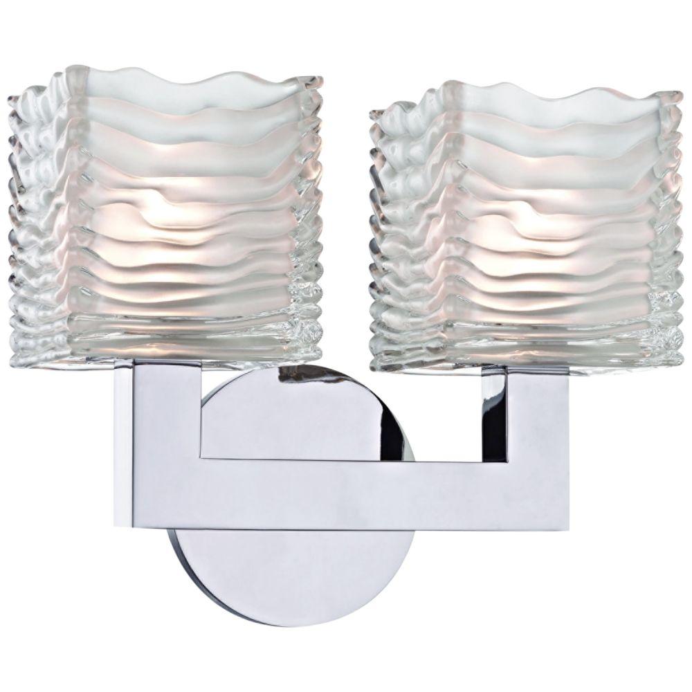Hudson Valley Sagamore 9 H Polished Chrome 2 Led Wall Sconce 24j06 Lamps Plus Vanity Lighting Hudson Valley Lighting Bathroom Vanity Lighting