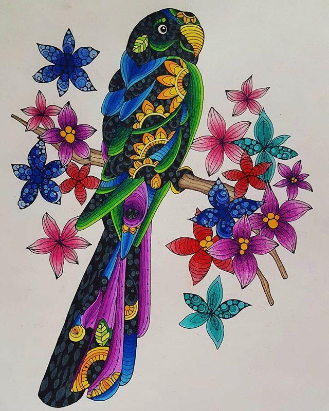 Adultcoloring Colortherapy Prismacolor Valentinaharper Designoriginals