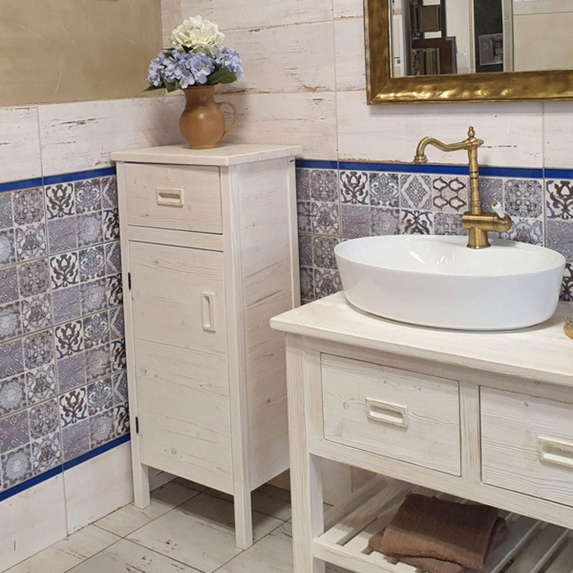 Kolekce Country Village V Koupelne 36 Retro Vanity Bathroom Vanity [ 1180 x 1180 Pixel ]