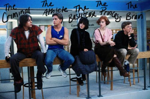 Resultado de imagen para tumblr the breakfast club