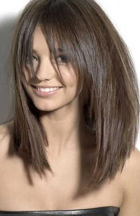 40++ Shoulder length hair with fringe and layers ideas in 2021