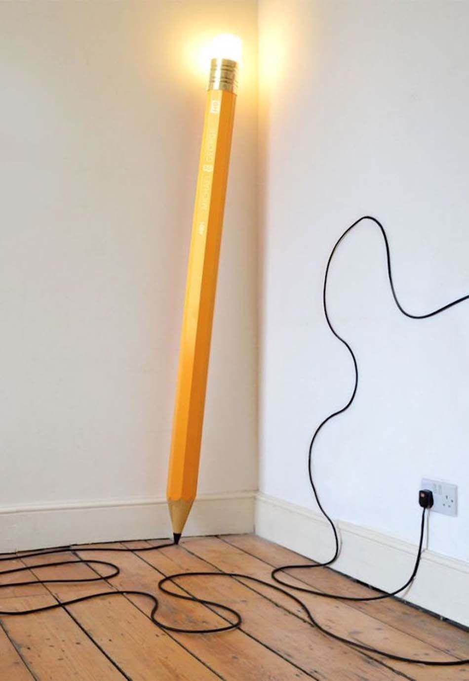 lampadaire design original