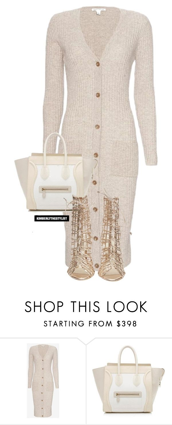 """""""Untitled #2342"""" by whokd ❤ liked on Polyvore featuring Autumn Cashmere, CÉLINE and Sophia Webster"""