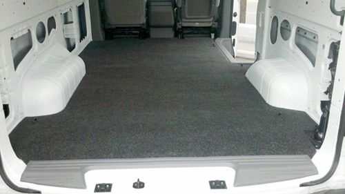 Vanrug Custom Floor Mat For Cargo Vans Charcoal Gray Carpet Cargo Mat Cargo Liner Cargo Van
