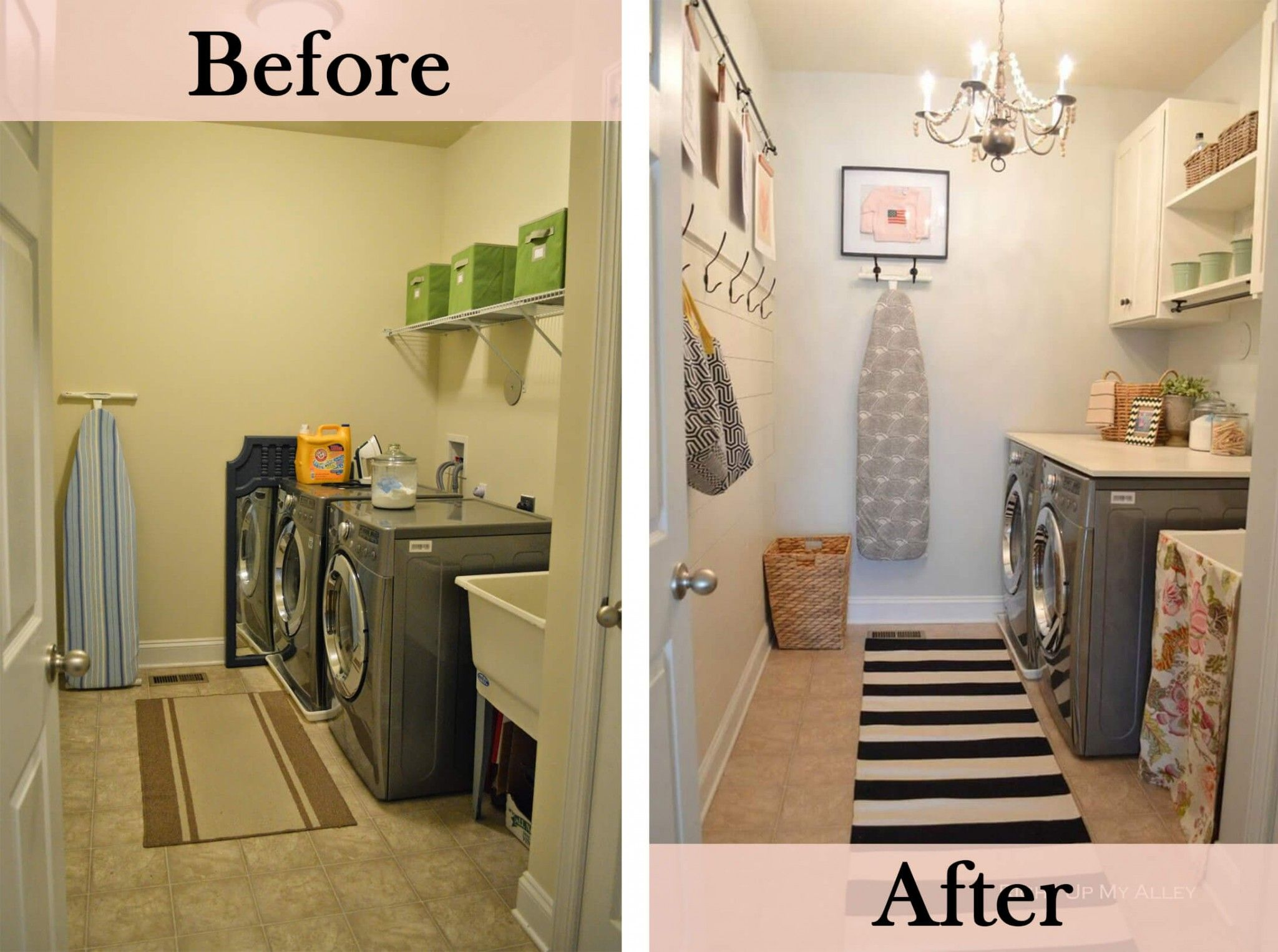 23 Before And After Budget Friendly Laundry Room Makeover Ideas