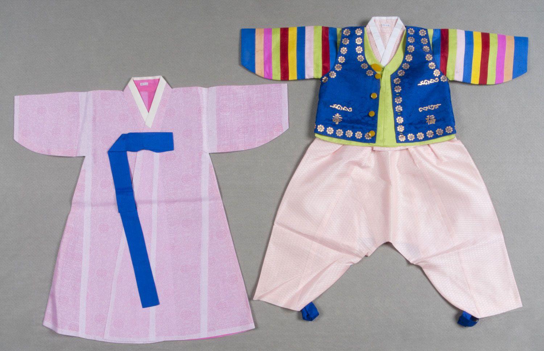 Boy's Ensemble: Pants, Jacket, Vest, Overjacket, and Coat Choi Bok-hee, Korean c. 1980-90s