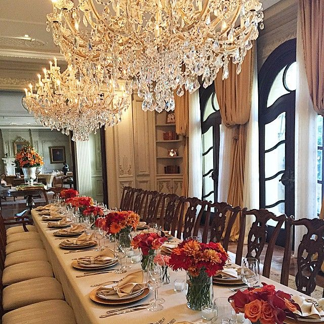Luxury Fine Home Interior: Shiva Safai And Mohamed Hadid's Thanksgiving..