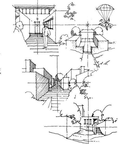 建築の手描きスケッチがうまくなる方法とおすすめのペンや紙