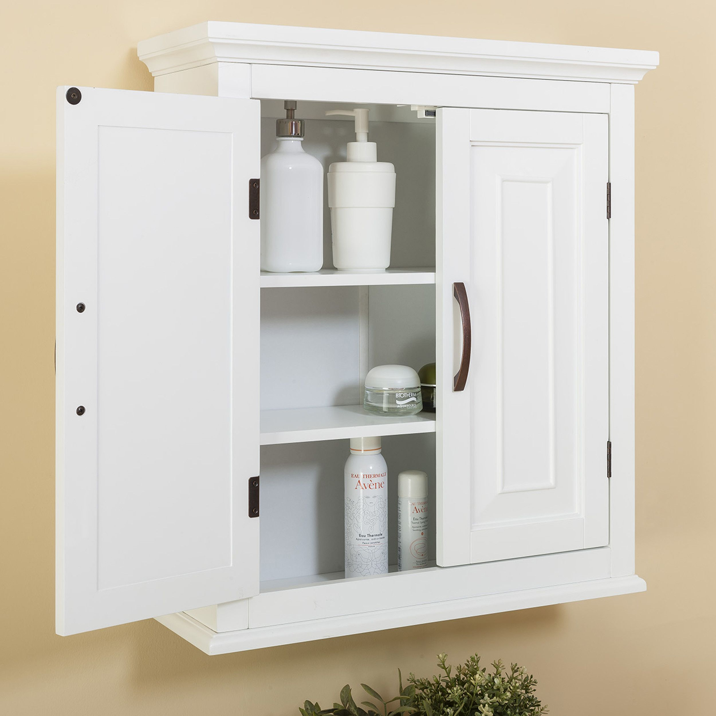 "Prater 22 5"" W x 25"" H Wall Mounted Cabinet"