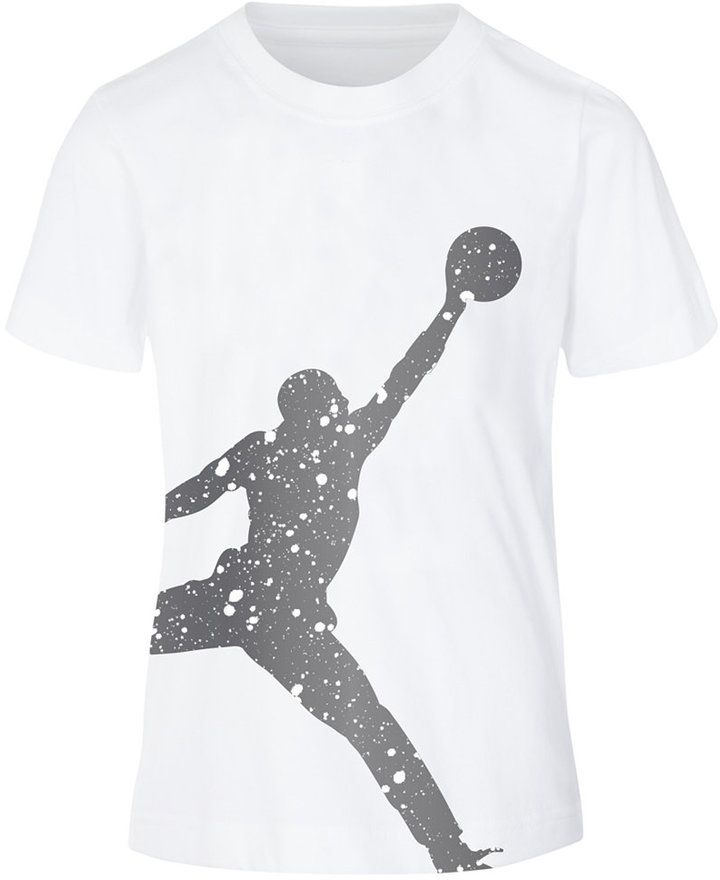 online store c5fe7 68b5b Jordan Jumbo Jumpman Graphic-Print Cotton T-Shirt, Big Boys (8-20)