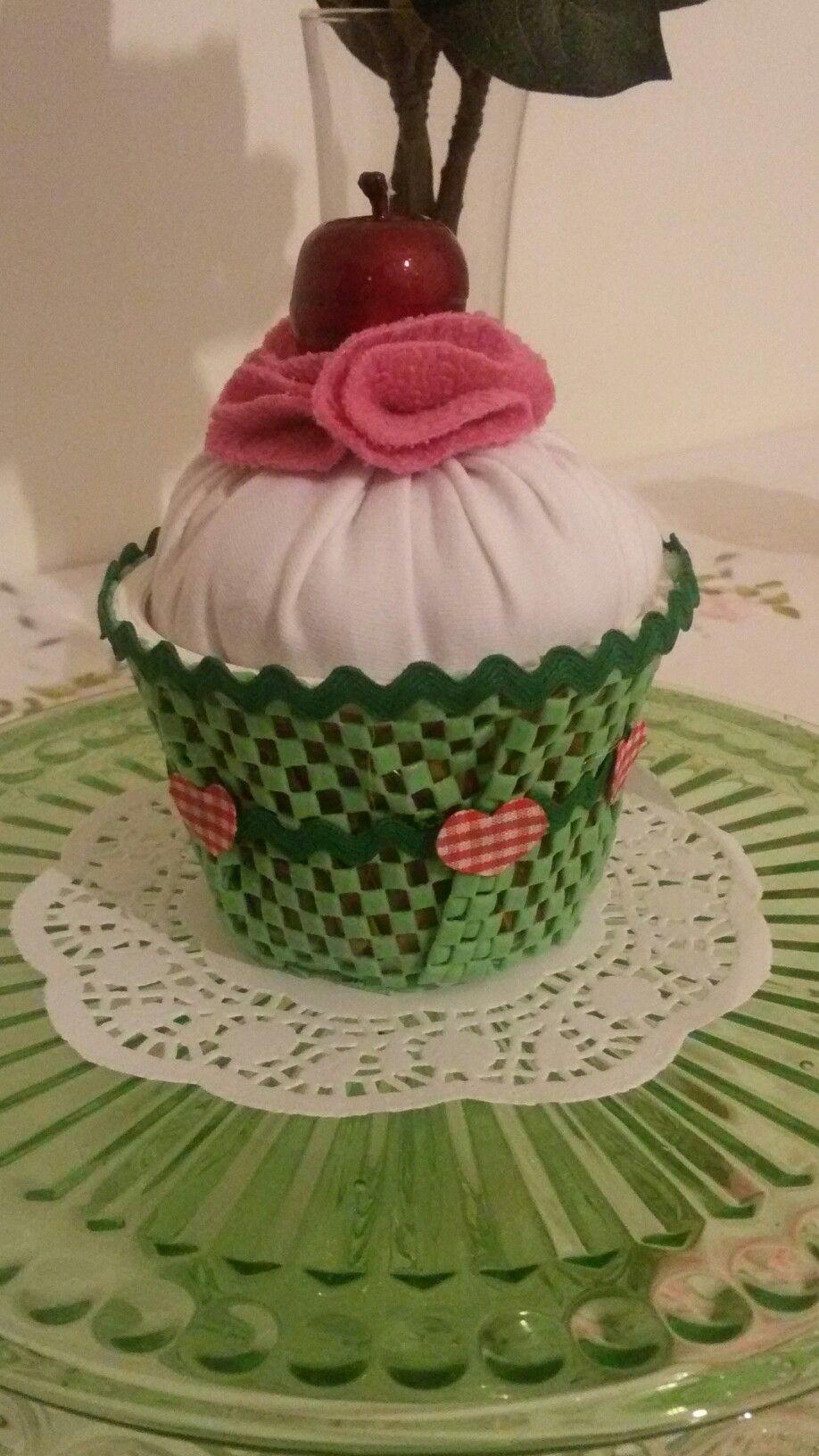 Cupcake di stoffa