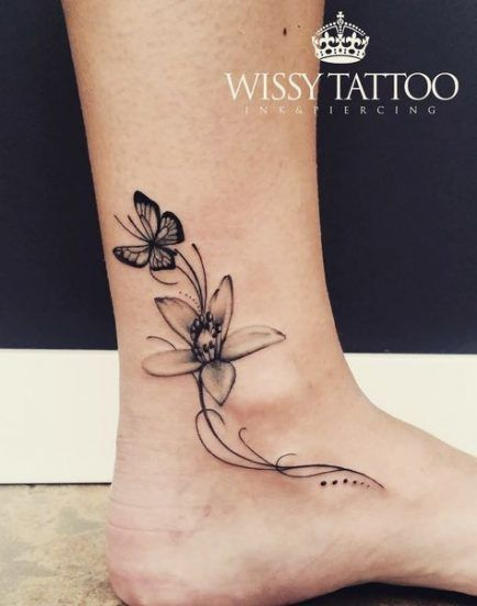 Photo of 43 great ideas for tattoo leg girl ankle tat #tattoo