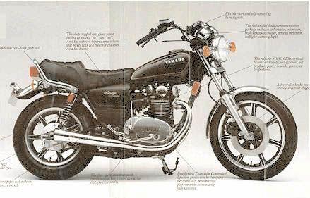 1983 yamaha xs650 sk coluche pinterest