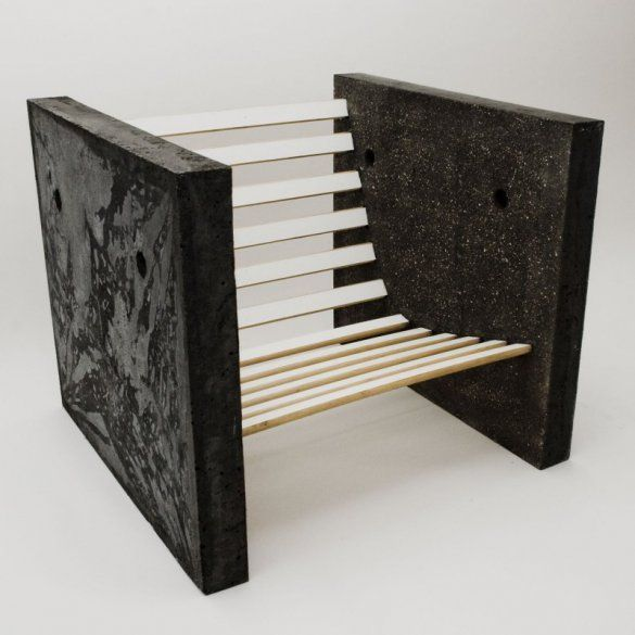 Tom Cecil, Concrete chair  Get started on liberating your interior design at Decoraid  https://www.decoraid.com