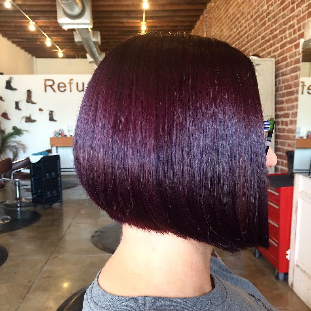 50 Brilliant Ideas For Plum Hair Color Sweetest Shades Hair Color Plum Plum Hair Hair Color Burgundy