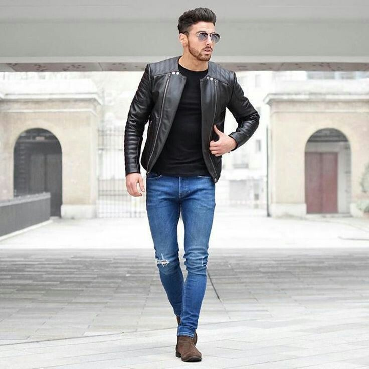 Leather Jacket And Sunglasses L C Men 39 S Jackets Pinterest Leather Jackets Leather And