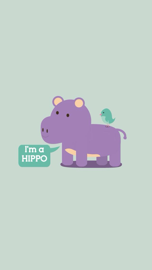 I M Hippo Cute Wallpapers For Ipad Cute Wallpapers Iphone Wa