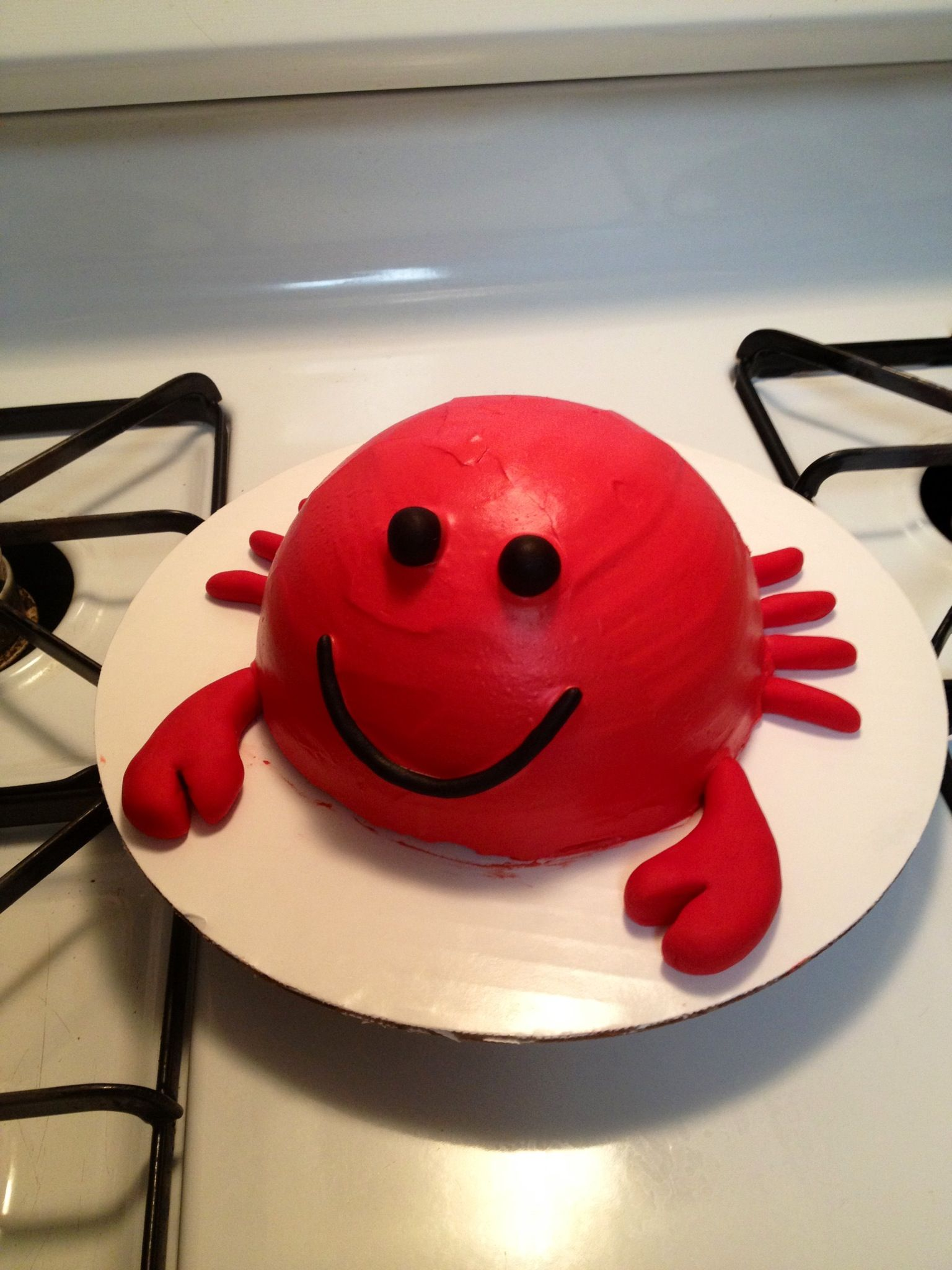 Crab Smash Cake First Birthday Cake Www Facebook Com
