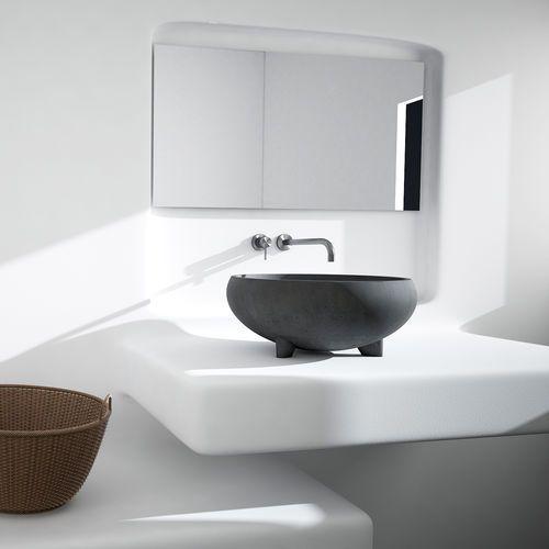 Vasque à poser / ronde / en béton / contemporaine BULBO Urbi et Orbi ...