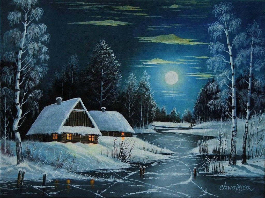 если картинки зима домик в лесу нарисовать важен, поскольку наличие