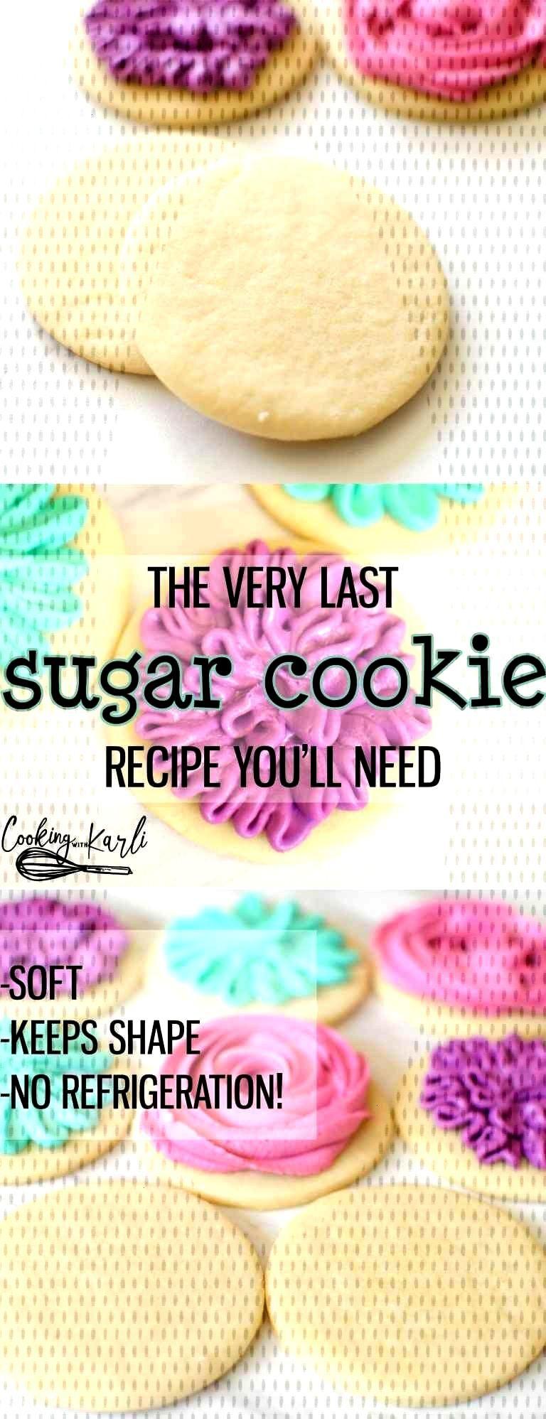 Perfect Sugar Cookie Recipe#cookie