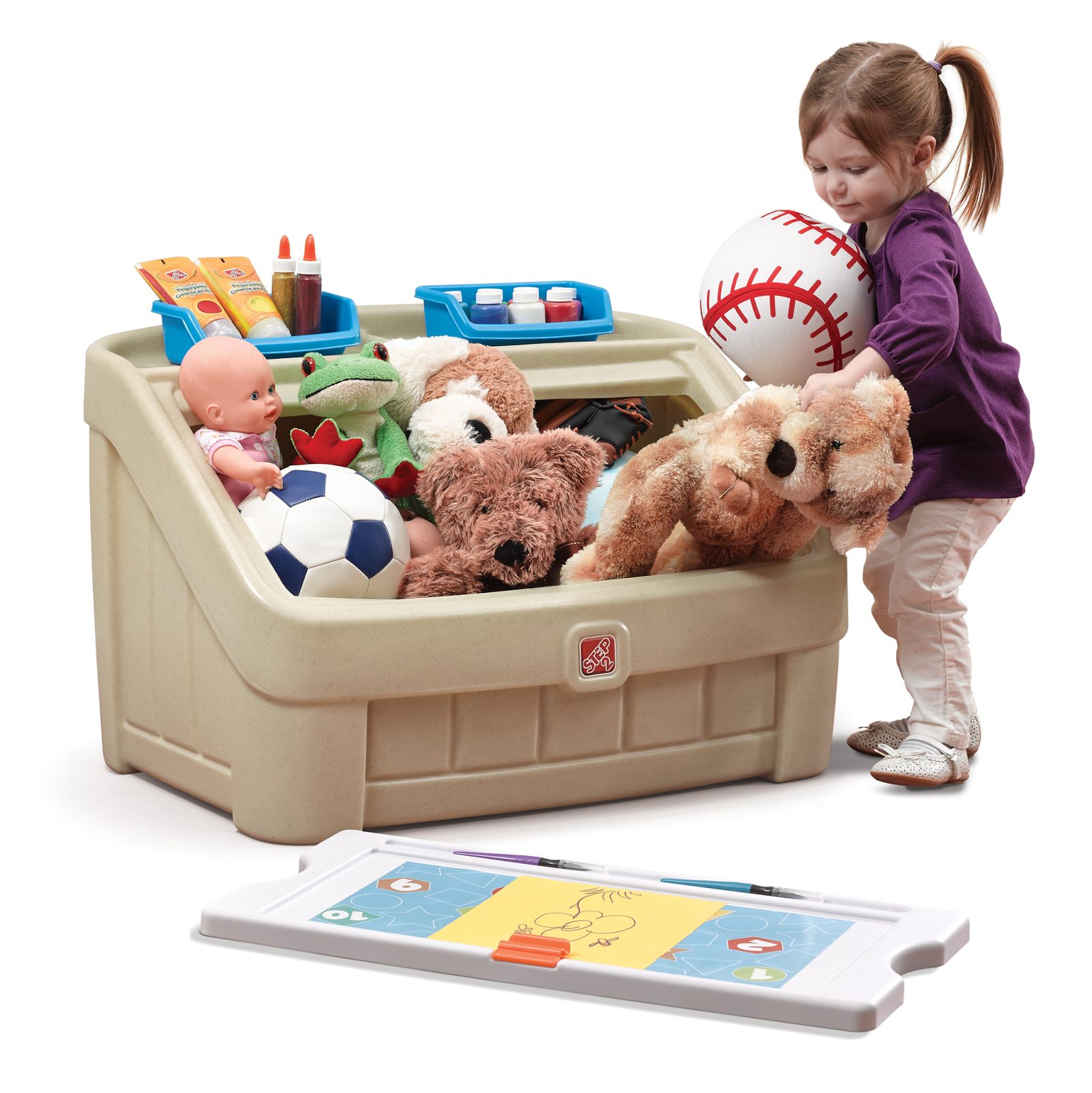 Step2 Art Toybox Toy Boxes Toddler Play Area Unique Toys