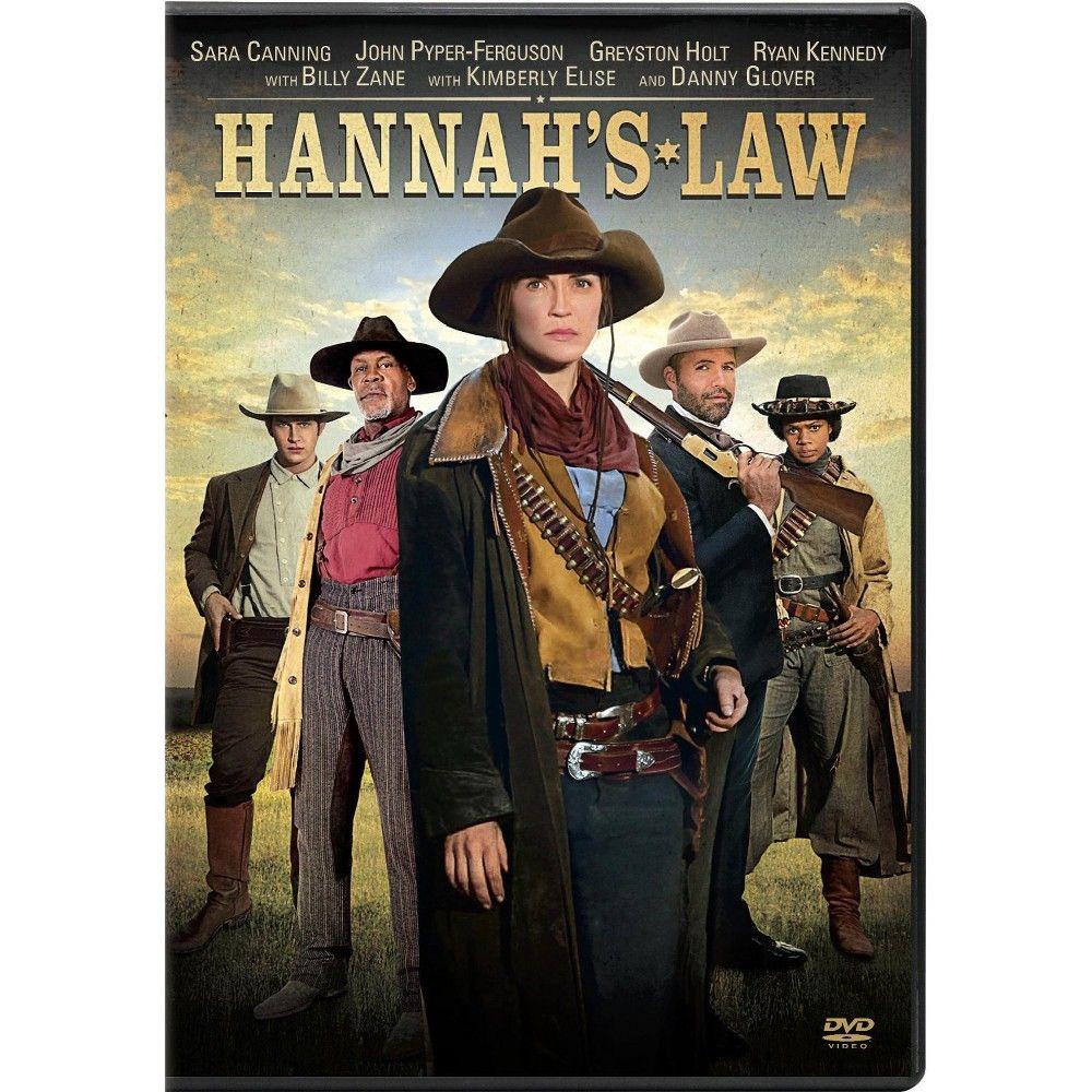 Hannah S Law Dvd Sara Canning Hallmark Movies Western Movies