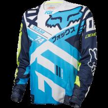 Fox Camiseta de MX 2018 360 Preme Dark Amarillo