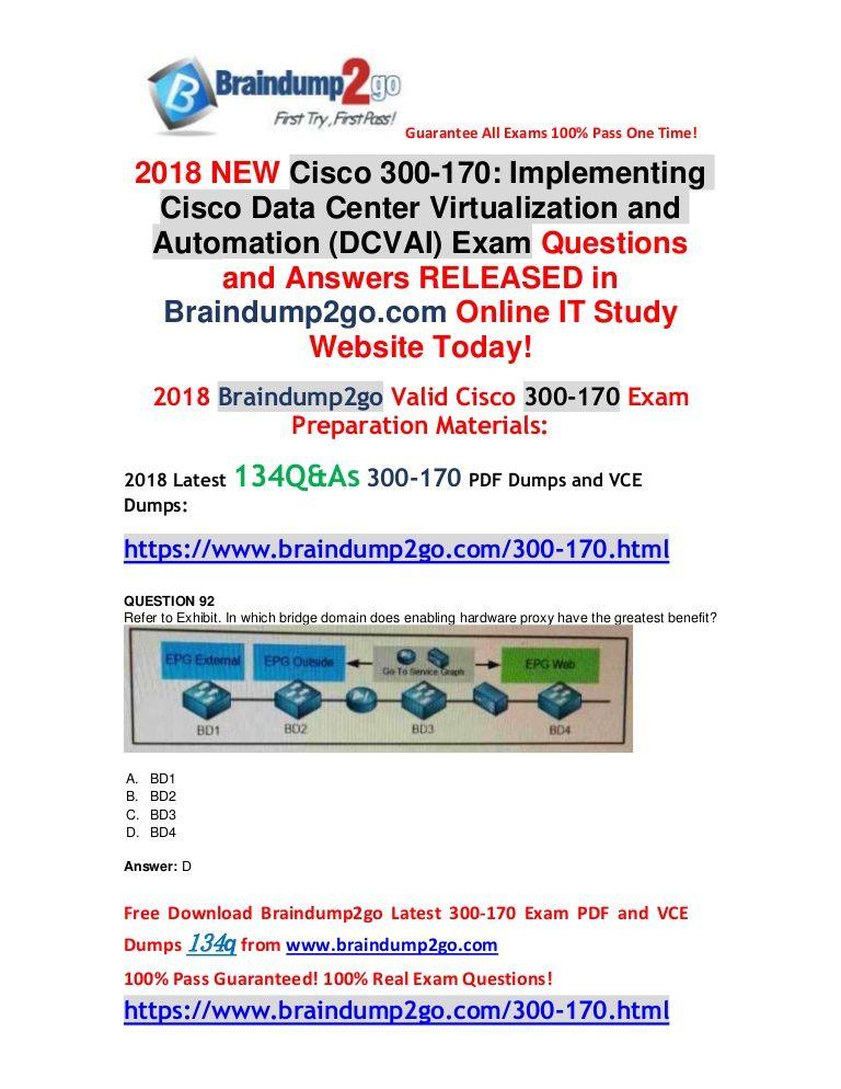 100% real exam questions! 100% exam pass guaranteed! braindump2go100% real exam questions! 100% exam pass guaranteed!