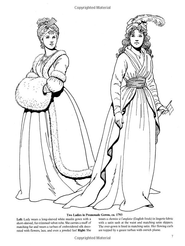 Amazon.com: Empire Fashions (Dover Fashion Coloring Book) (0800759418695): Tom Tierney: Books ...