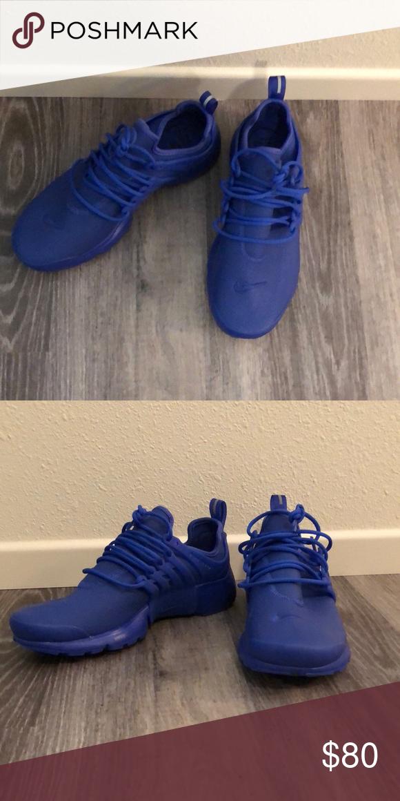 14f083c6bf8be4 Pair of blue women s Air Nike Presto Premium