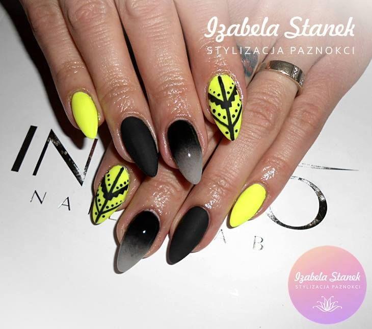 by Izabela Stanek, Find more inspiration at www.indigo-nails.com #nailart #nails #omg #polish #indigo #neon
