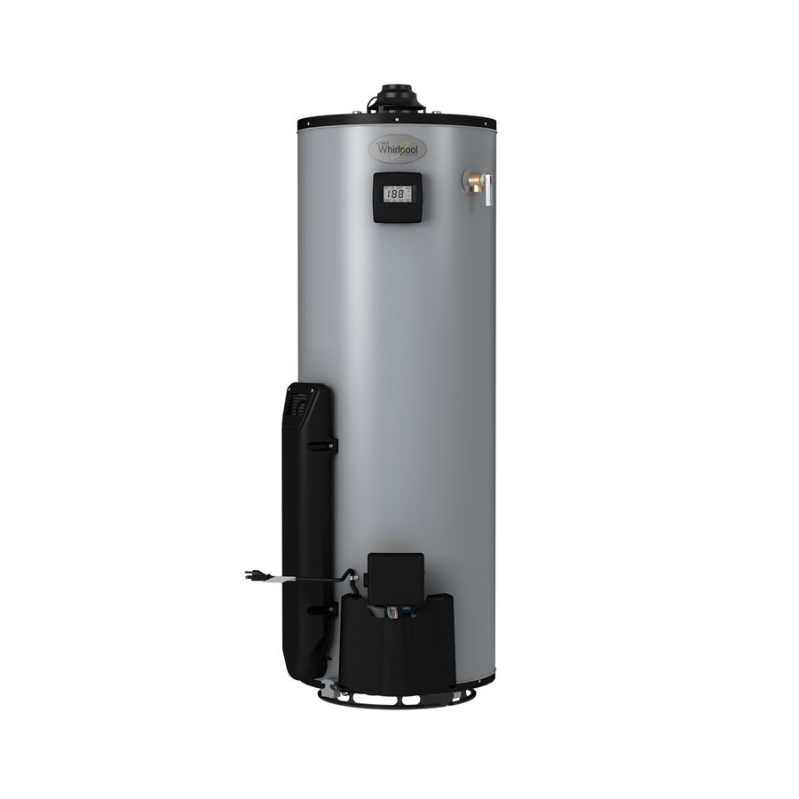 Whirlpool 40 Gallon 12 Year Limited Tall Natural Gas Water Heater Waterheater Pinterest Natural Gas Water Heater