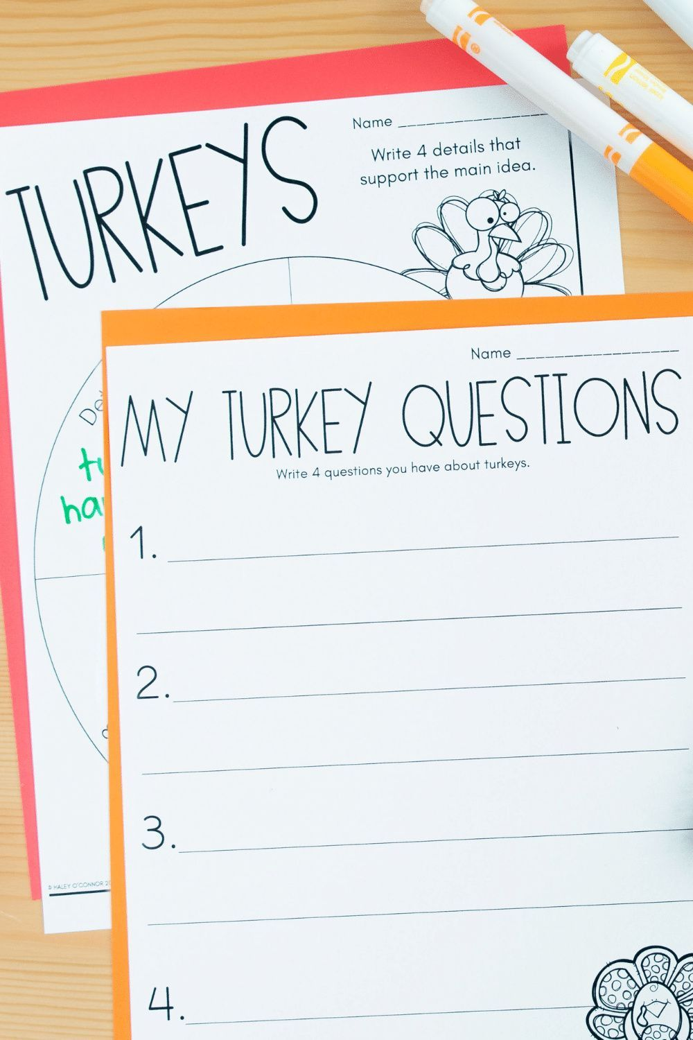 Turkey Activities Worksheets And Printables For Thanksgiving Fall And The Holidays Fun Writing Activities Teaching Writing Writing Printables [ 1500 x 1000 Pixel ]