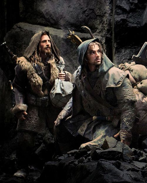 Fili and Kili♥ my favourite two characters from The Hobbit, aside from Gandalf and Bilbo of course :)