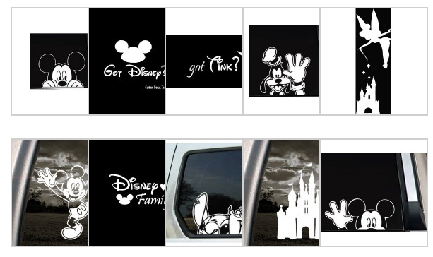 Disney Vinyl Window Clings Starting At Shipped Tinker Bell - Vinyl window clings for cars
