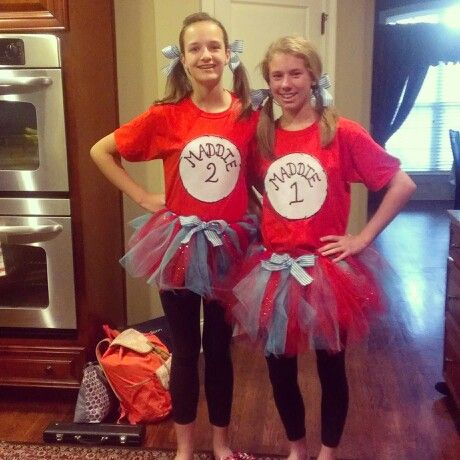 Twin day | Spirit week | Pinterest | Twins and Halloween costumes