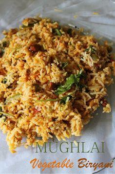 Mughlai vegetable biryani recipe mughlai veg biryani recipe yummy tummy mughlai vegetable biryani recipe mughlai veg biryani recipe forumfinder Images