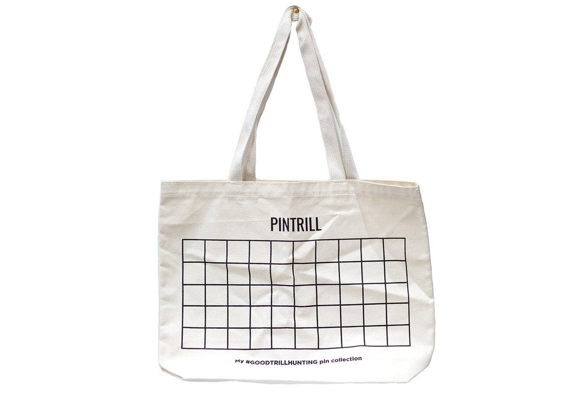 ce10fe011a99 Pin Collection Tote Bag | ENAMEL PINS: I WANT | Bags, Tote Bag, Pin ...