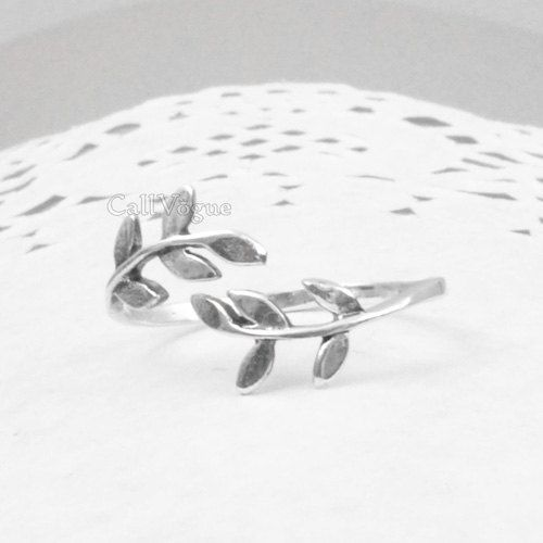 Laurel ring 925 Sterling Silver Ring Women Girl Lady by CallVogue
