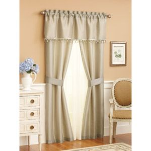 Bedroom Curtains Solid Window Better Homes And Gardens Home