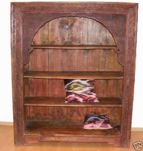 antik orient Massiv Regal Bücherregal schrank Afghanistan shelf ...