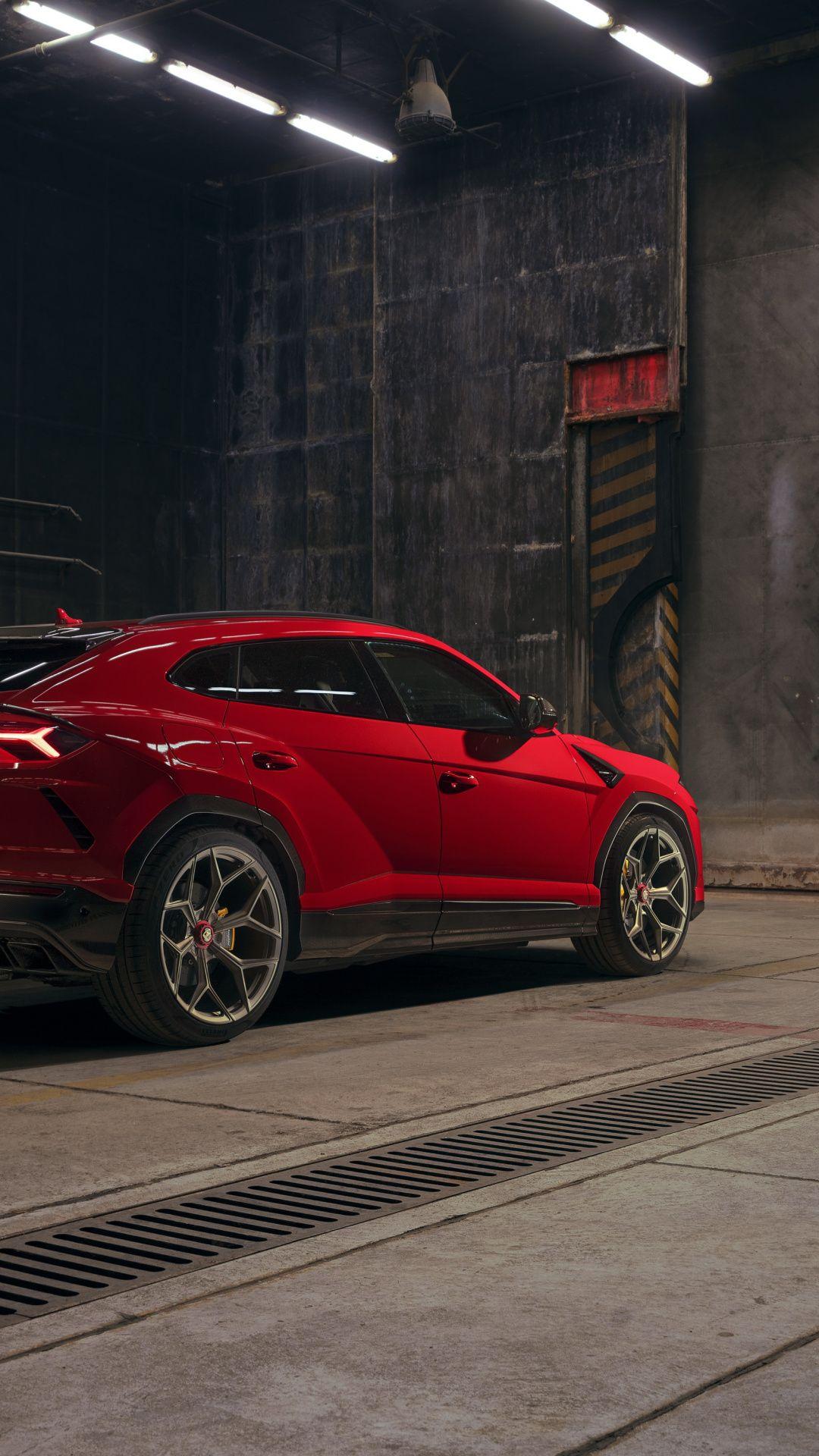 1080x1920 2019, red car, Urus wallpaper Red