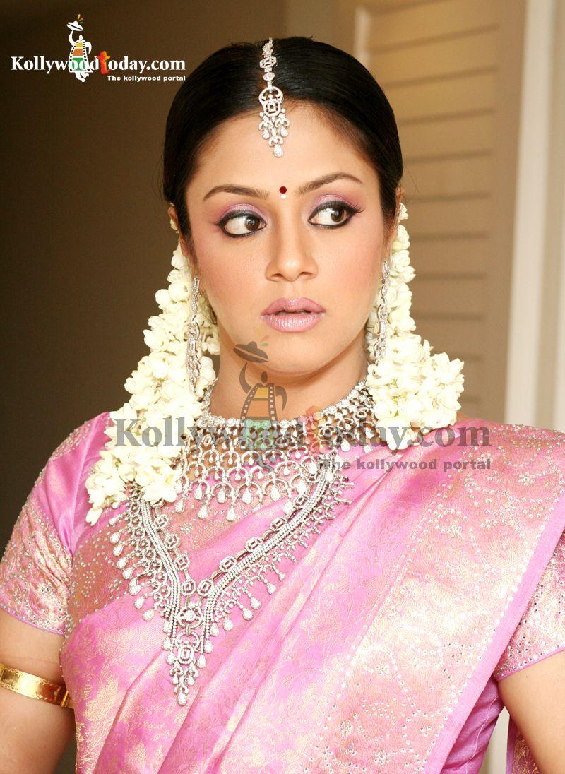 jyothika | Celeb Styles | Pinterest | Saree, Actresses and Pink saree