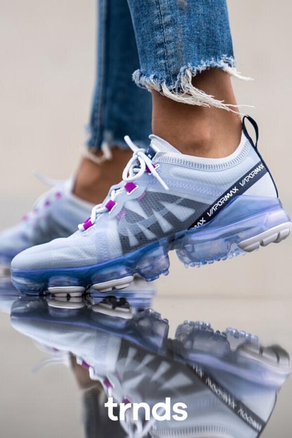 Nike Air Vapormax 2019 Football Grey for Women. The Swoosh