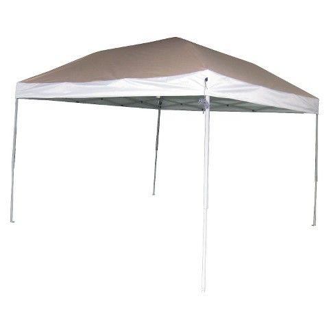 Embark 10x10 Straight Leg Canopy- Tan | Canopy tent ...
