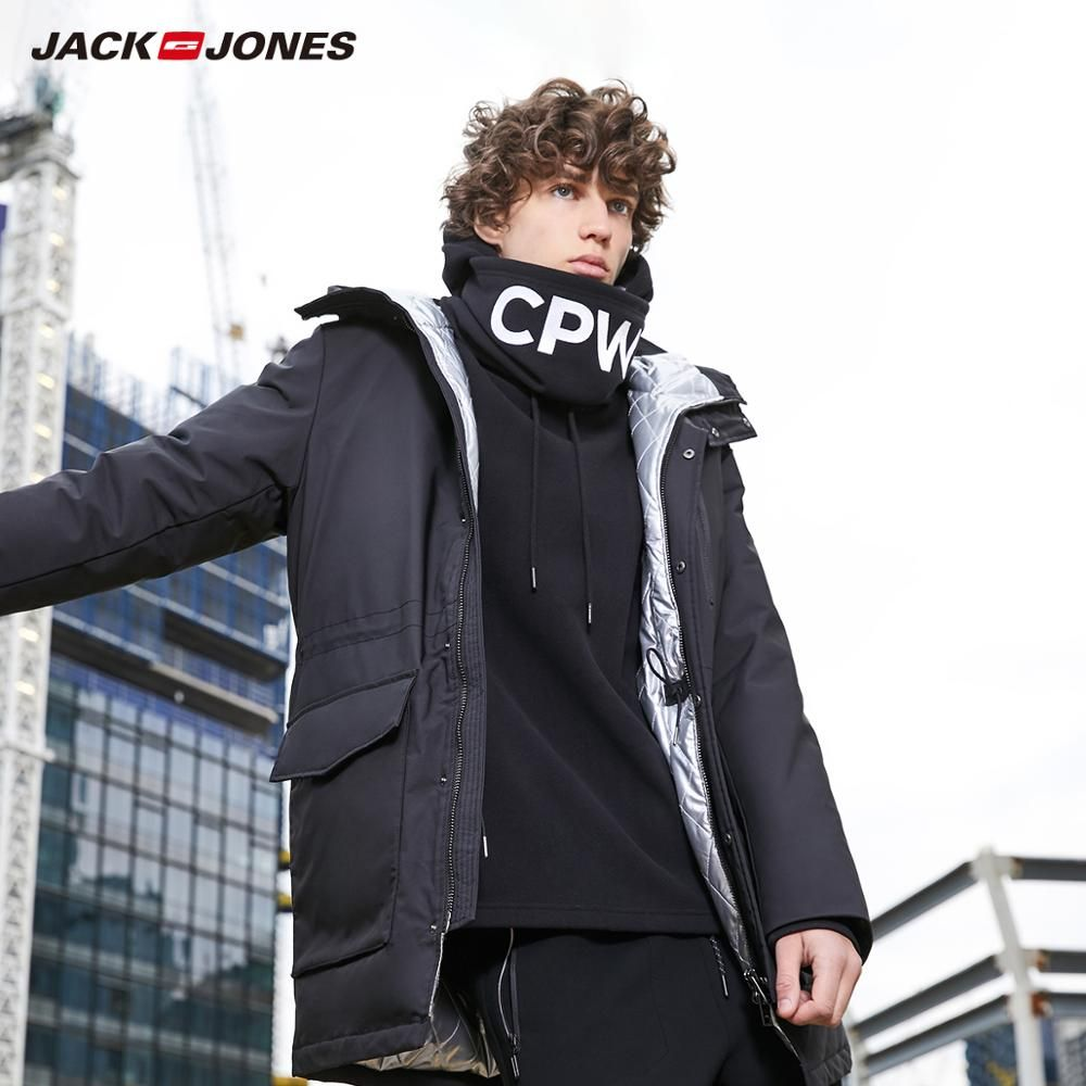 Jack Hoodies New 2019 Winter Warm Jackets Men Casual