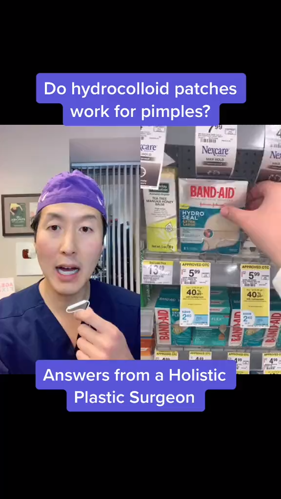 Are The Tiktok Trend Hydrocolloid Patches A Hit Or Miss Video Skin Care Natural Skin Care Skin Care Routine